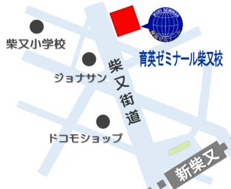 育英ゼミナール 地図